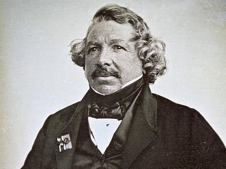 Louis Daguerre, Inventor of Daguerreotype Photography