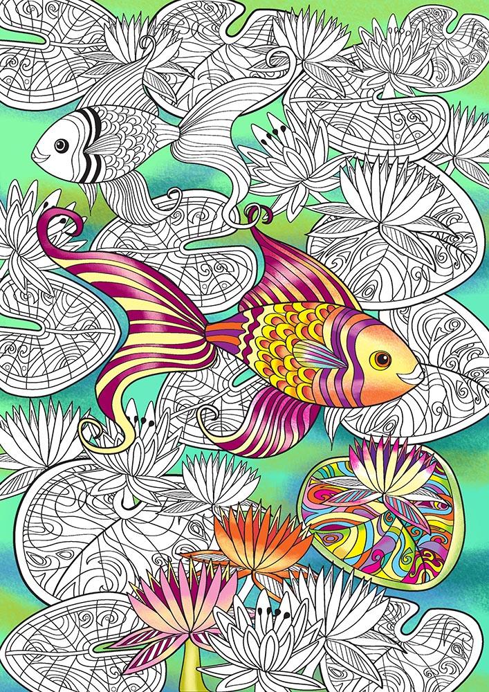 goldfish coloured