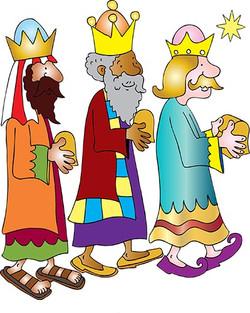 3 wise men coloured