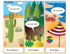Cartoon strip in Spanish.