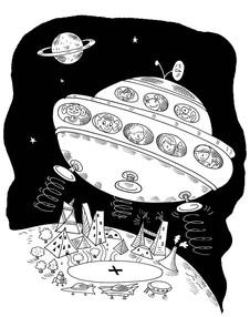 Finn's space adventures.