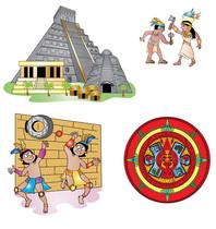 Aztecs and Incas.