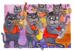 dixie jazz cats