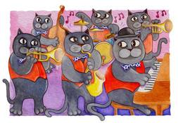 Dixie jazz cats.