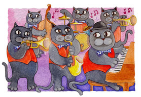 Dixie jazz cats.