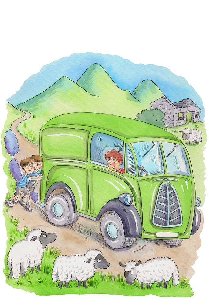 1950s van