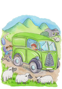 The Green Van, a story set in the 1950s.