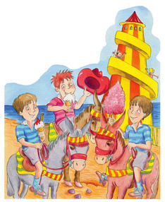 Helter skelter, a story set in the 1950s.
