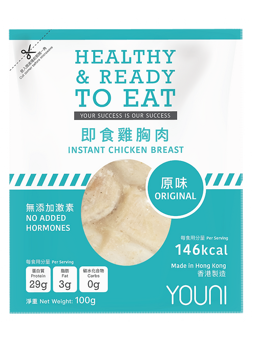 即食雞胸(原味) 100克Instant Chicken Breast(Original) 100g