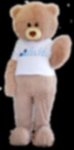 Dennis The Bear Dentist Mascot Slave Lake Dental Teddy Bear