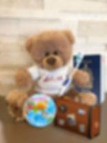 Dennis the Dentist Bear - Slave Lake Dental Mascot - Dennis the Bear Travel