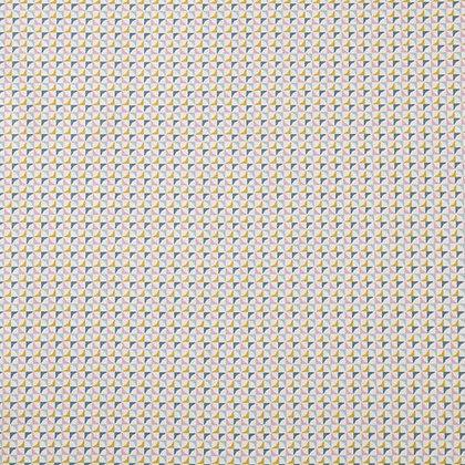 Coton imprimé losanges colorés