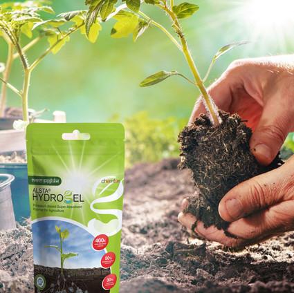 Hydrogel Agriculture: Potassium Polyacrylate based Superabsorbent Polymer