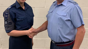 Promotion for the Officer Commanding
