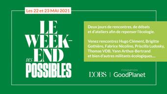 """""""Week-end des possibles"""" avec Goodplanet et L'Obs"""