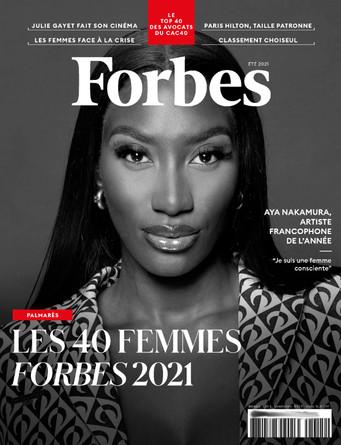 Distinction Forbes - Femme marquante de l'année 2021