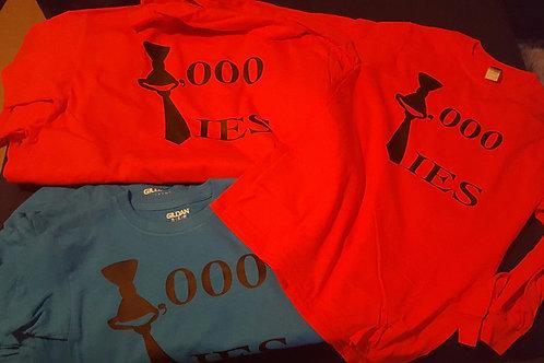 1,000 Ties T-Shirts
