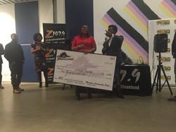 Winning a check