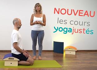 Les nouveaux cours yogajustés