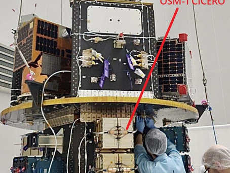 Launch of OSM-1 CICERO postponed due to Covid-19