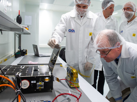 HSH Prince Albert II of Monaco visits OSM facility