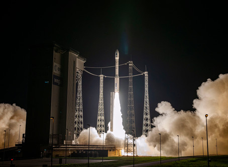 Vega VV16 rocket carrying our OSM-1 CICERO nanosatellite  launched from Kourou on Sept 2nd.