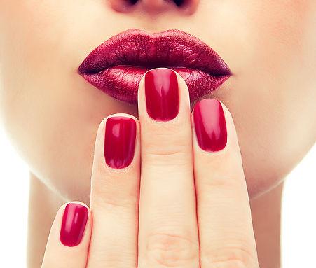 serenity spa & beauty salon nails gelish acrylic