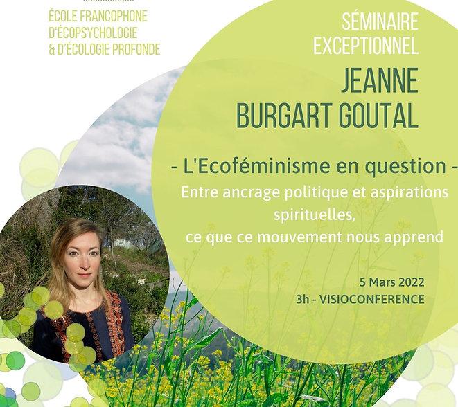 L'écoféminisme en question avec Jeanne B