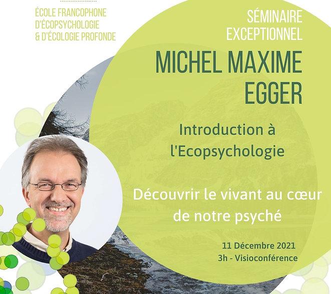 Introduction à l'Ecopsychologie avec Mic