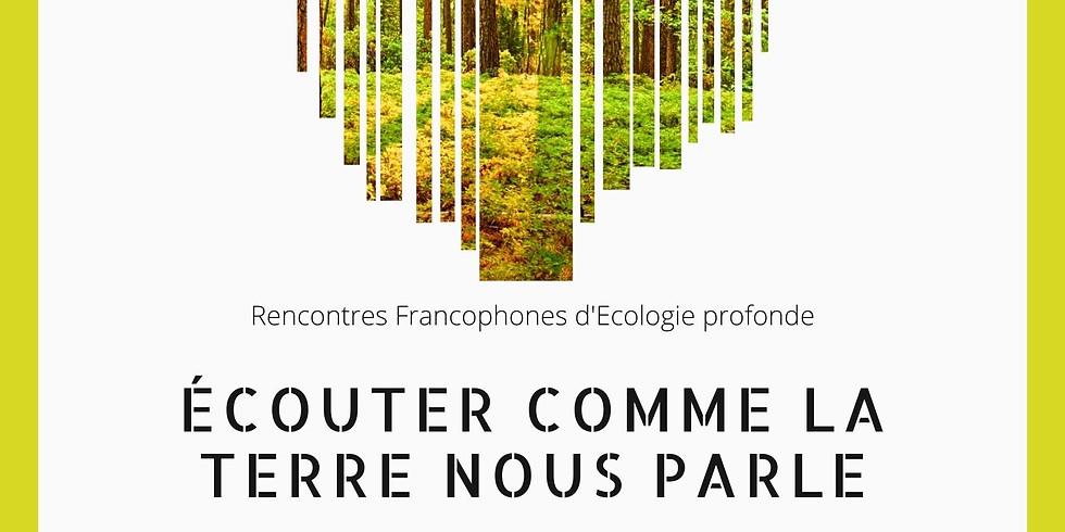 Rencontres francophones d'Ecologie profonde Québec-INFOS COVID - REPORTE