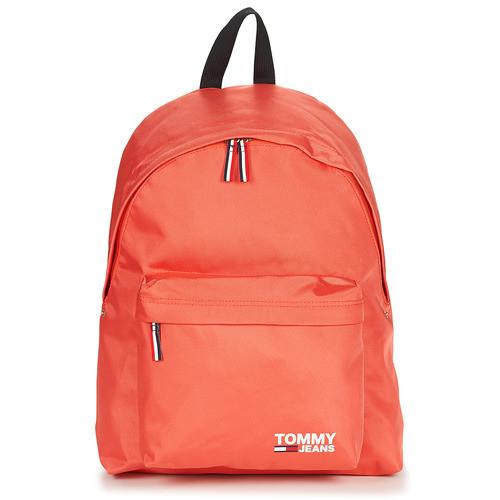 8a29803364 tommy jeans hilfiger zaino TJW COOL CITY BACKPACK Corail arancione corallo  tessuto tela backpack estate uomo
