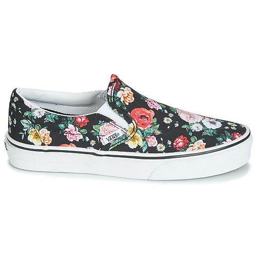 VANS - Classic Slip On - Sneakers multicolore con fantasia floreale