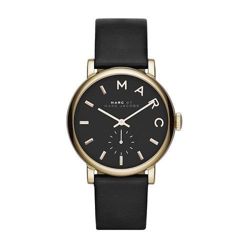 MARC JACOBS MBM1269 - Orologio donna con cinturino in pelle - Nero orologi urban loop