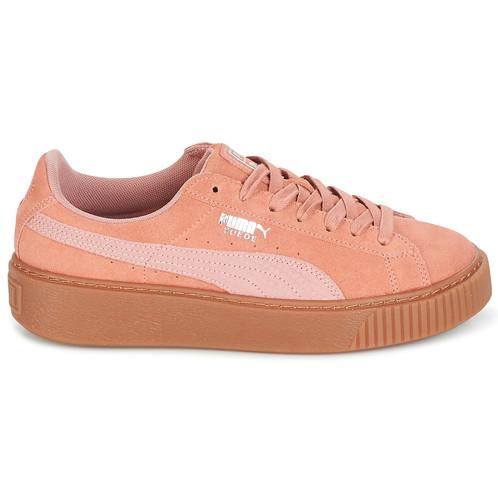 2puma scarpe donna suede platform