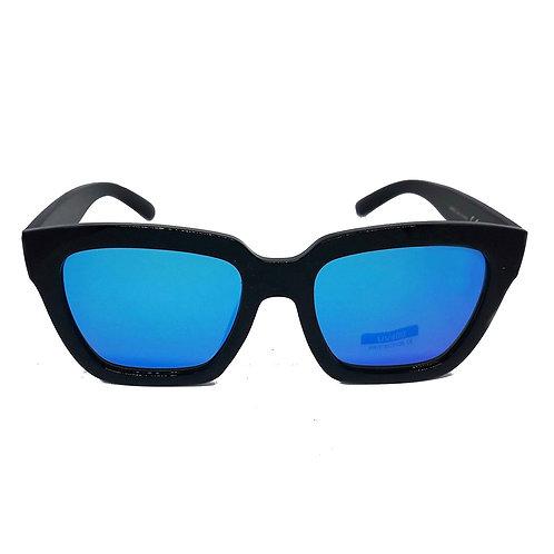 occhiali da sole donna oversize cat eye occhi di gatto diamond diva lenti specchio specchiate blu 2018 urban loop