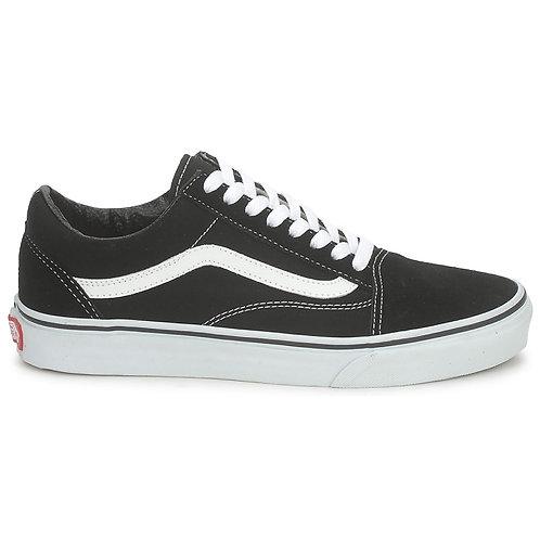 VANS Old Skool - Nero/Bianco scarpe uomo donna sneakers urban loop