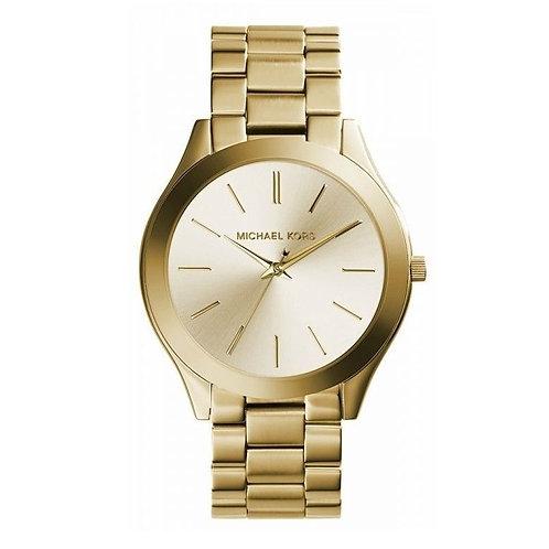 OROLOGIO DONNA MICHAEL KORS MK3179 acciaio dorato oro orologi moda tendenza 2017 2018 urban loop