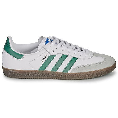 ADIDAS ORIGINALS - Samba Og - Sneakers bianco/verde