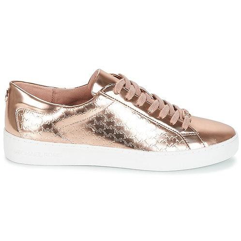 MICHAEL KORS - Sneakers COLBY SNEAKER - Rosa / Oro