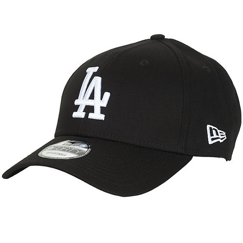NEW ERA - LEAGUE ESSENTIAL 9FORTY LOS ANGELES DODGERS - Cappello Nero / Bianco