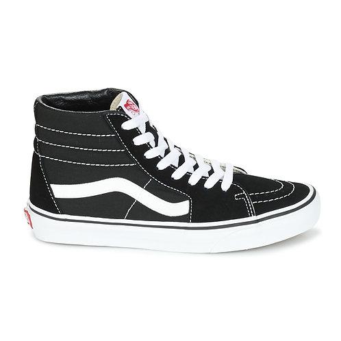 VANS - Sneakers stivaletti SK8 HI - Nero / Bianco alte scarpe uomo urban loop