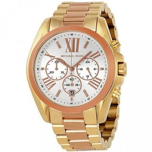MICHAEL KORS MK5651 - Orologio donna con bracciale bicolore oro/rosa orologi urban loop