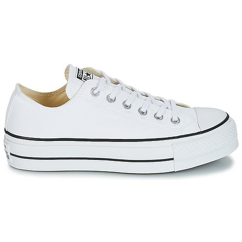 CONVERSE - Sneakers CHUCK TAYLOR ALL STAR LIFT CLEAN OX CORE CANVAS +Colori