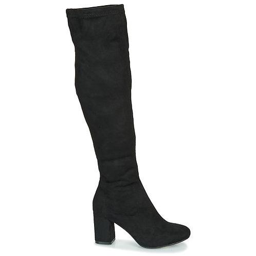 COOLWAY - Stivali al ginocchio BRUHI - Nero