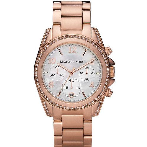 MICHAEL KORS MK5522 - Orologio donna in metallo gold rosè orologi urban loop