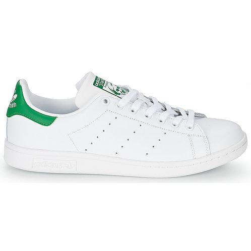 athleisure ADIDAS ORIGINALS - Sneakers STAN SMITH - Bianco / Verde scarpe uomo donna 2019 moda tendenza urban loop