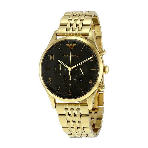 OROLOGIO AR1893 UOMO EMPORIO ARMANI - In acciaio color oro e cronografo dorato orologi urban loop