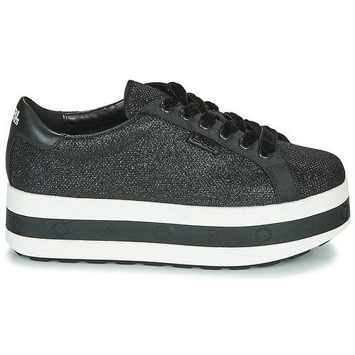 KARL LAGERFELD - Sneakers KOBO KUP RING LOGO LACE SHOE - Nero / Bianco