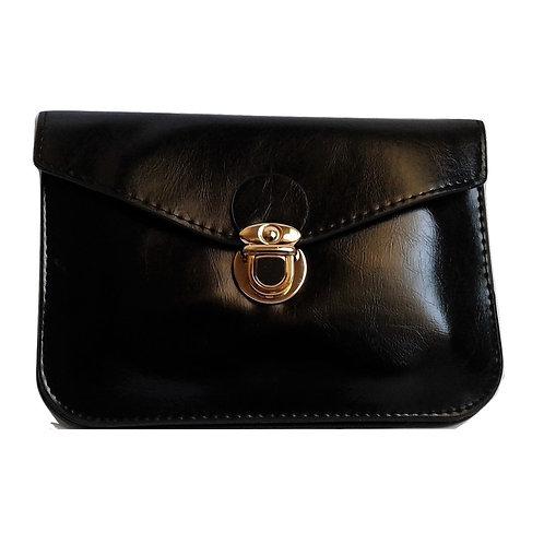borsa pochette busta tracolla nera ecopelle nera donna 2017 messenger dulcet mini piccola urban loop