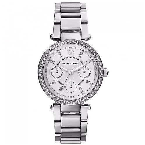 MICHAEL KORS MK5615 - Orologio donna in acciaio con cristalli Swarowski orologi urban loop